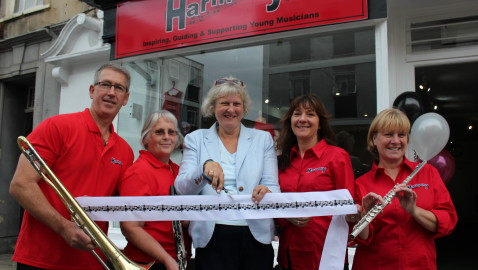 Secret donor boosts  music charity opening