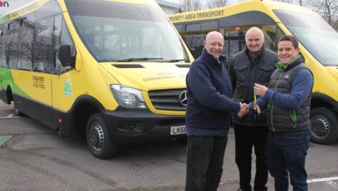 Two new buses for Melksham Community Transport