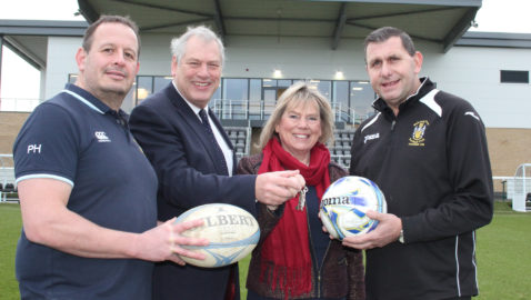 A day to remember as clubs kick off at impressive new home