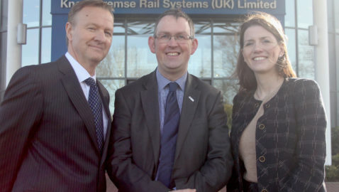 Rail Minister visits Knorr-Bremse Rail HQ