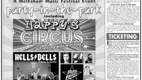 Big Top Circus at  Party in the Park 2017