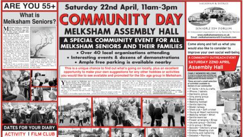 Community Day  will showcase the  best of melksham