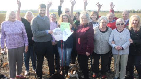 Campaigners' joy as Forest field is saved from housing