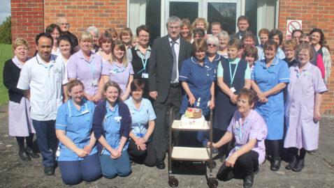 Melksham nurse retires after almost 30 years