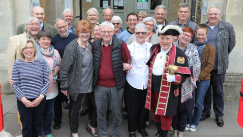 Melksham Rotary Club say 'Bonjour!' to visitors from France