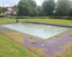 Anger at closure of paddling pool