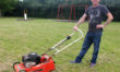 'If the council won't do it, I'll do it myself!' Dad takes grass cutting  into his own hands