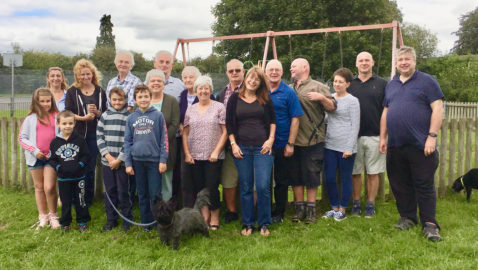 Community group win £4,000 for their park