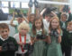 Forest and Sandridge pupils donate school shoes to poor children