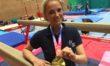 """British gold medal for """"inspirational"""" Melksham gymnast"""