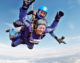 As light as a feather! Local woman loses over 7 stone and takes part in skydive