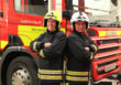 Firefighters  celebrate 30 years  of service