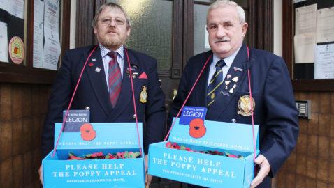 Melksham Poppy Appeal launched