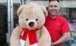 Name the Bear! Win a giant bear and raise money for the Christmas Lights
