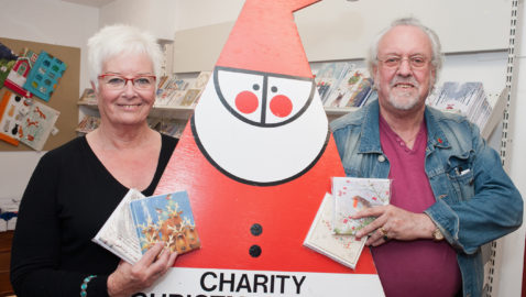 Charity Christmas cards now on sale at Melksham Tourist Information Centre