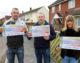 Melksham street wins the Postcode Lottery!