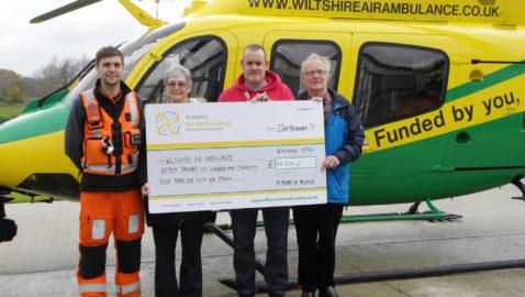 Local family passes £15,000 fundraising target in memory of daughter
