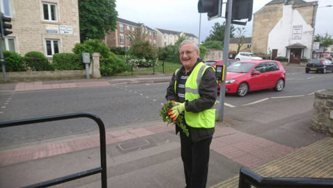 Tributes paid to former parish council chair and town's Person of the Year