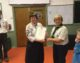 Award for 40 years' service to Scouting