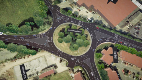Plans unveiled for new-look Farmers Roundabout • New traffic light system • More lanes • Work will take 8/9 months