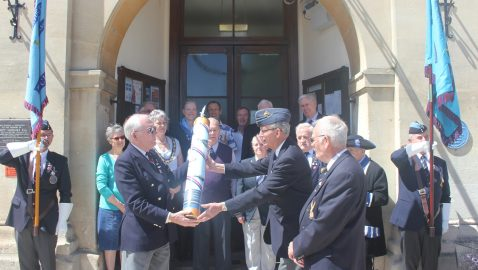 100 years of the Royal Air Force celebrated in Melksham
