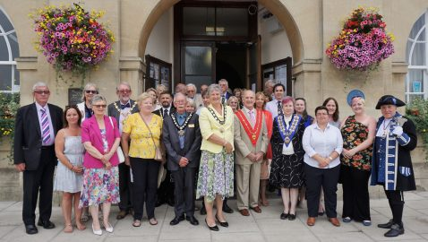 Town comes together for Civic Service