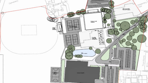Campus is behind schedule & over budget – but Wiltshire Council pledge commitment  to delivering project