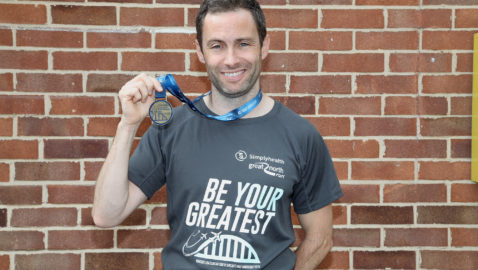 Melksham News reporter  overcomes  hilly Great North Run