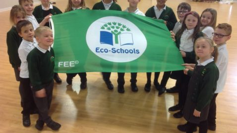 School awarded green flag for environmental excellence