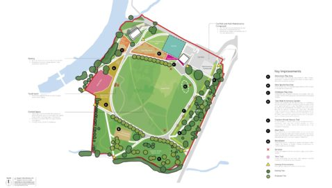 Exciting plans for new-look park