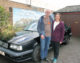 Fundraising couple to take on the Austrian Alps in an old banger