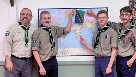 Scouts' African Adventure
