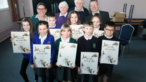 The 'lost words' of nature return to Melksham's schools