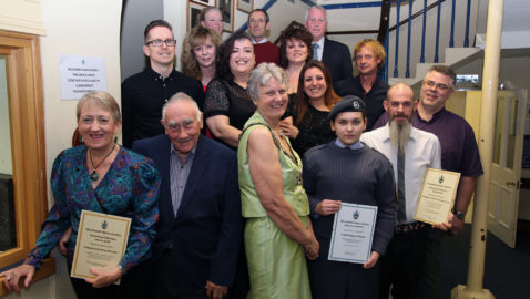 Town's champions honoured with Civic Awards
