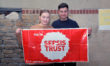 Young couple to take on London to Paris cycle challenge in memory of Keiran Edney