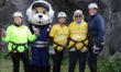 Adventurous abseilers aid Wiltshire Air Ambulance