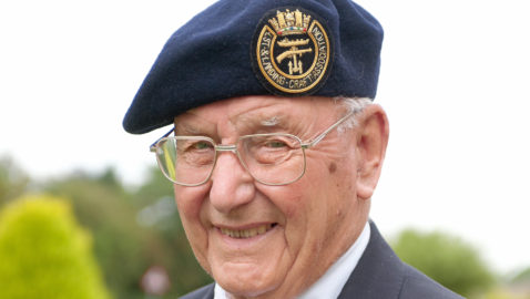 D-Day hero marks 75th anniversary of historic battle