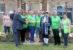 Volunteers praised for restoration of new community garden