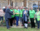 Volunteers praised for restoration of new community garden