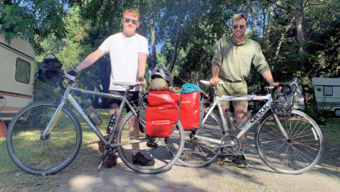 Atworth duo take to their bikes for 1,000 mile charity cycle ride