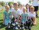 Primary school go barefoot for children's charity