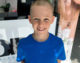 Young fundraiser 'braves the shave' for Macmillan