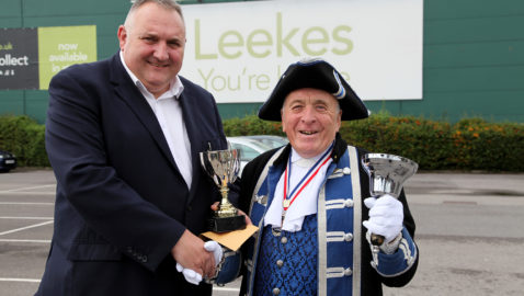 Oyez oyez! Town crier prepares to host UK's 'biggest' championship