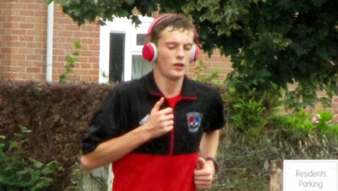 Teenager runs 84km over seven days for lifeboat charity