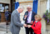 Town welcomes royal visitor