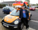 It's 'Pompeii or bust' for chris and his banger car!