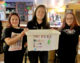 Girls pledge to help the homeless this Christmas