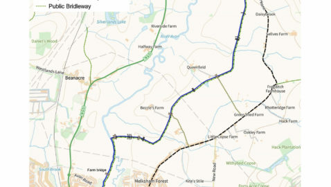 Destination Lacock! Plans progress for  Melksham to Lacock path