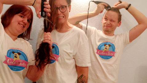Couple to lose their locks in memory of their daughter