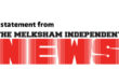 A statement from Melksham Independent News